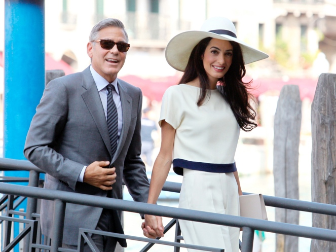 The Wedding of George Clooney and Amal Alamuddin, Venice, Italy - 29 Sep 2014