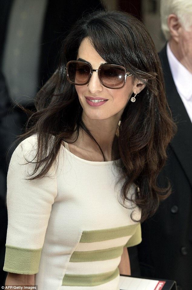 Amal Clooney Left Her Hotel In Athens 14 10 2014 Amal