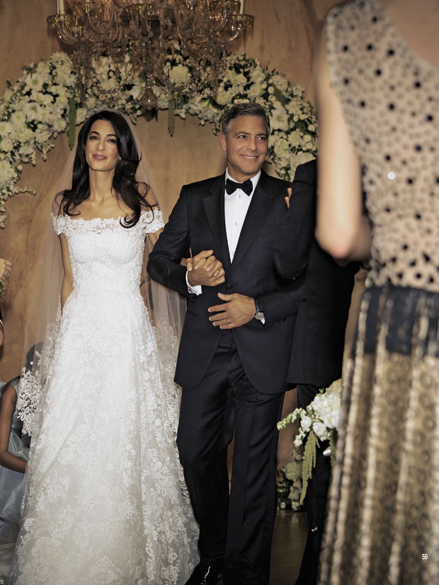 Amal Alamuddin and George Clooney wedding pictures album