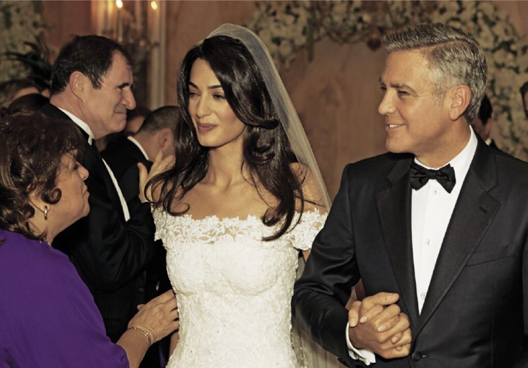 Amal Alamuddin And George Clooney Wedding Pictures Album Hello