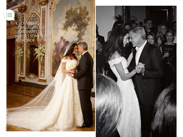 Amal Alamuddin And George Clooney Wedding In Paris Match Magazine