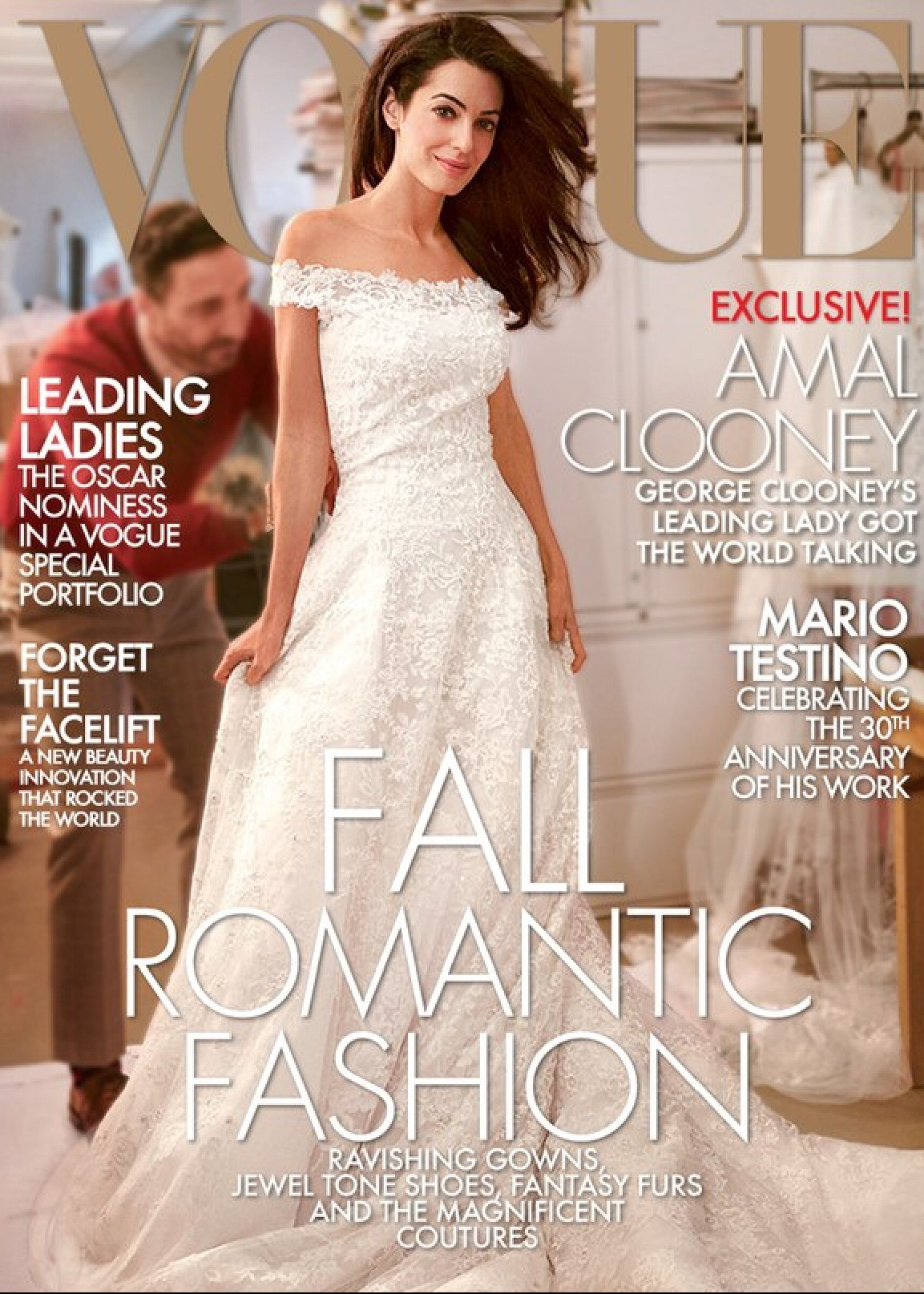 Is Amal Clooney the next VOGUE cover ? Here the cover