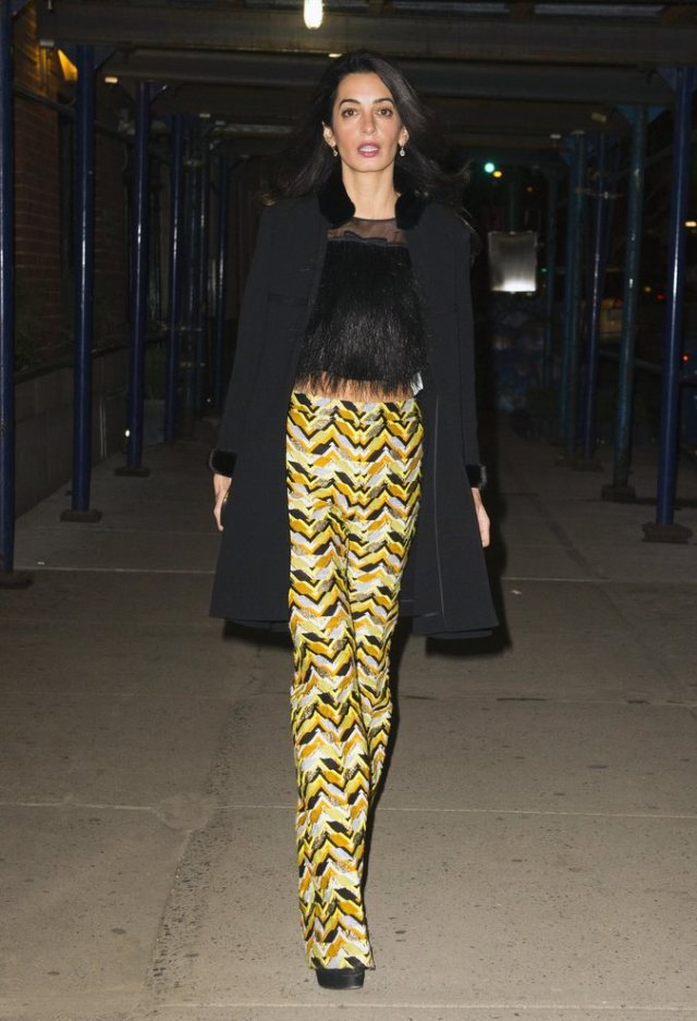 Amal-Clooney-Out-Dinner-March-2015-Pictures (2)
