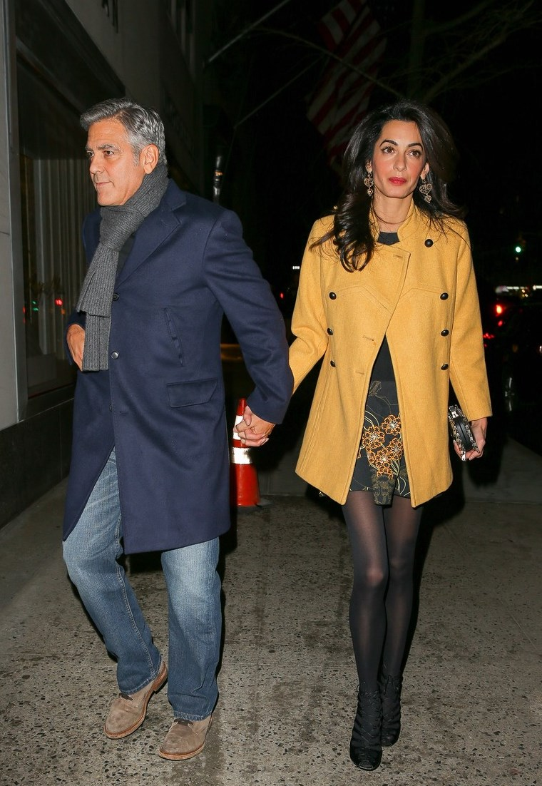 george dating amal They have dinner together in london, however clooney's rep denies that they are dating march 13 – george and amal take a romantic trip to the seychelles.