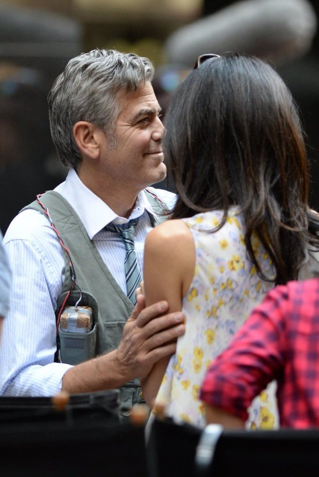 Amal-Alamuddin-Visits-George-Clooney-Money-Monster-Set (2)
