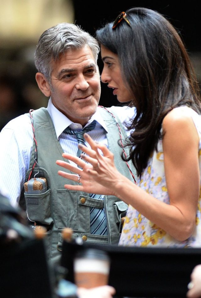 Amal-Alamuddin-Visits-George-Clooney-Money-Monster-Set (3)