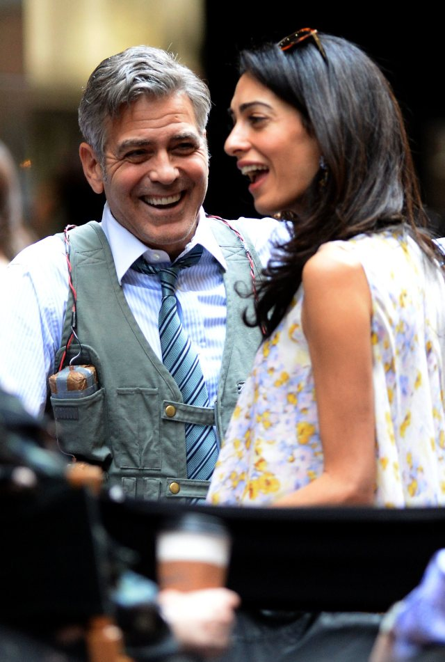 Amal-Alamuddin-Visits-George-Clooney-Money-Monster-Set (8)