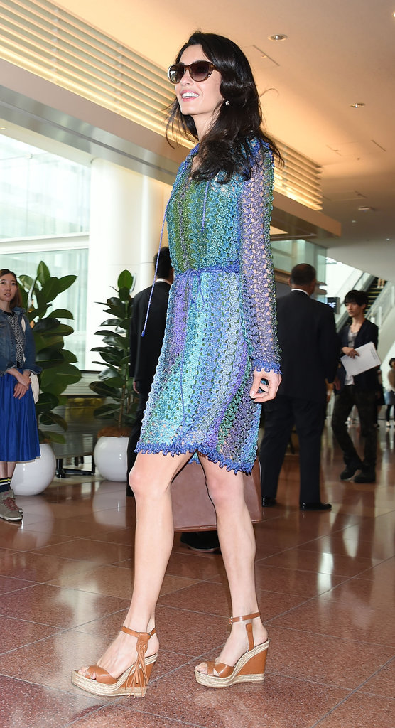 Amal-Clooney-Wearing-Blue-Crochet-Missoni-Dress (1)