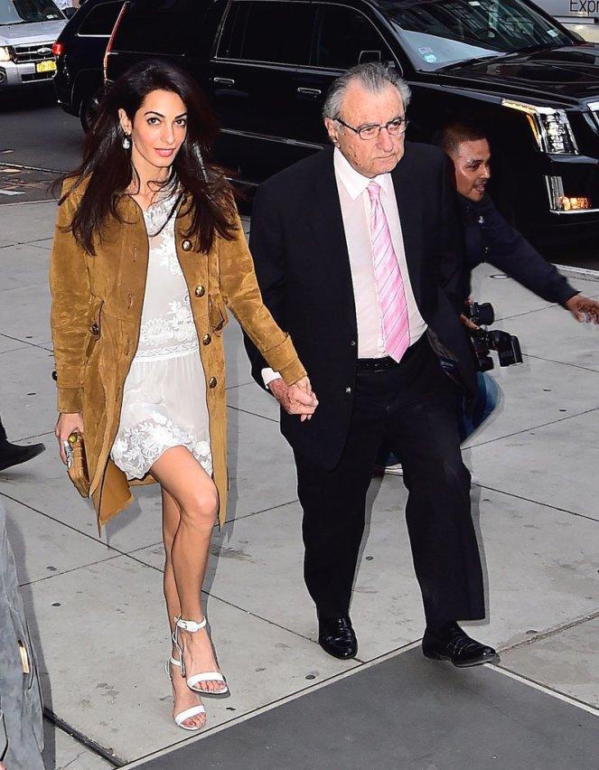 Amal-Clooney-Wearing-Gucci-Suede-Coat-2015 (2)