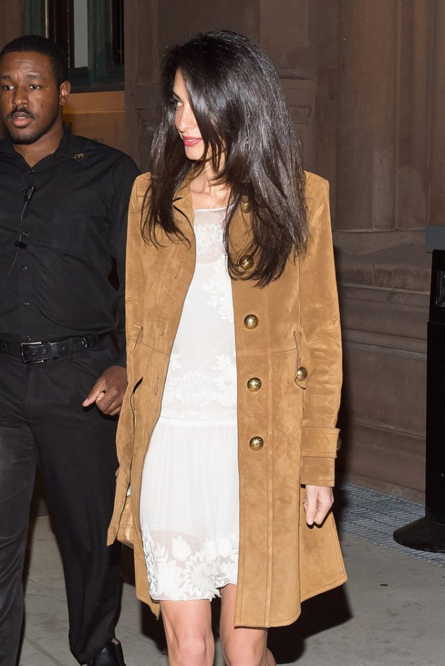 Amal-Clooney-Wearing-Gucci-Suede-Coat-2015 (5)