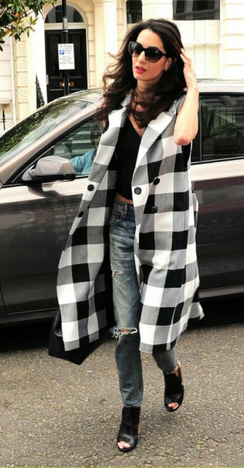amal checked coat 2