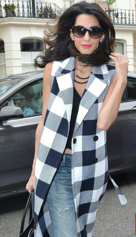 amal checked coat 6