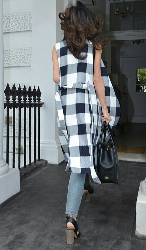 amal checked coat 7