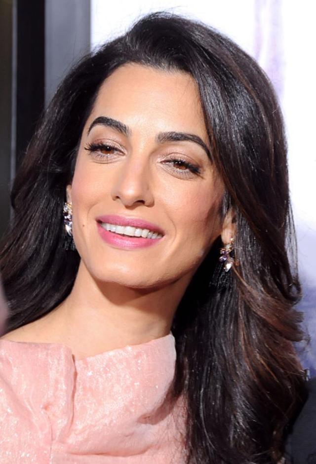 HOLLYWOOD, CA - OCTOBER 26: Lawyer Amal Alamuddin Clooney arrives at the Premiere of Warner Bros. Pictures' 'Our Brand Is Crisis' at TCL Chinese Theatre on October 26, 2015 in Hollywood, California. (Photo by Barry King/Getty Images)