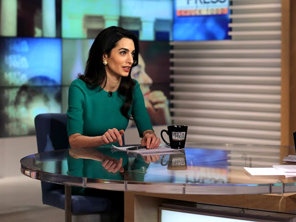 Amal Clooney at Meet the Press on NBC with Chuck Todd 17 01