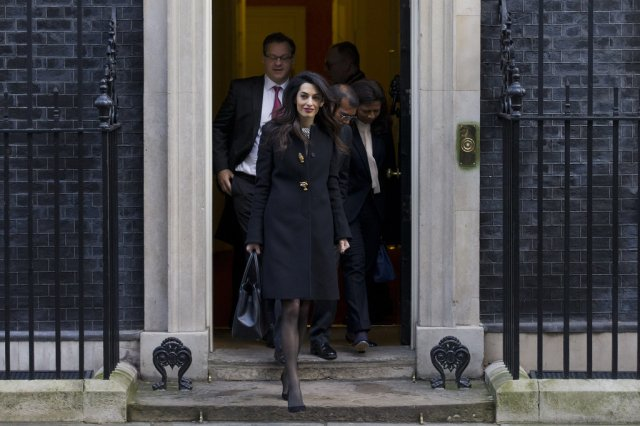 Amal-Clooney-Wearing-Black-Coat-Gold-Buttons