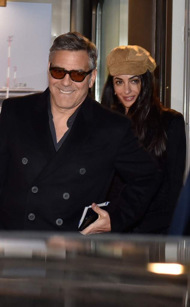 George and Amal Clooney Have Dashing Date Night to Catch-22 Premiere
