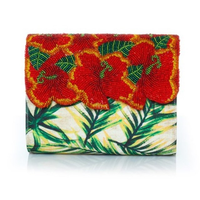 sarahsbag-tiki-temptation-collection-hibiscus-clutch-bag-front-view