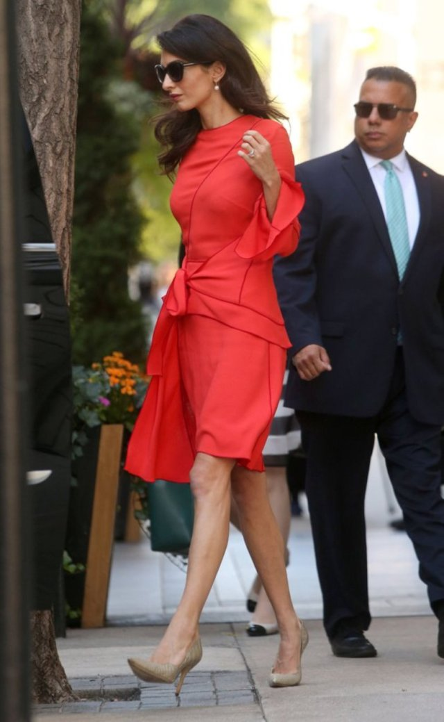 amal-clooney-red-wrap-dress-new-york-september-2016-7