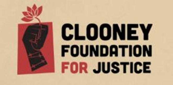 Image result for george clooney foundation