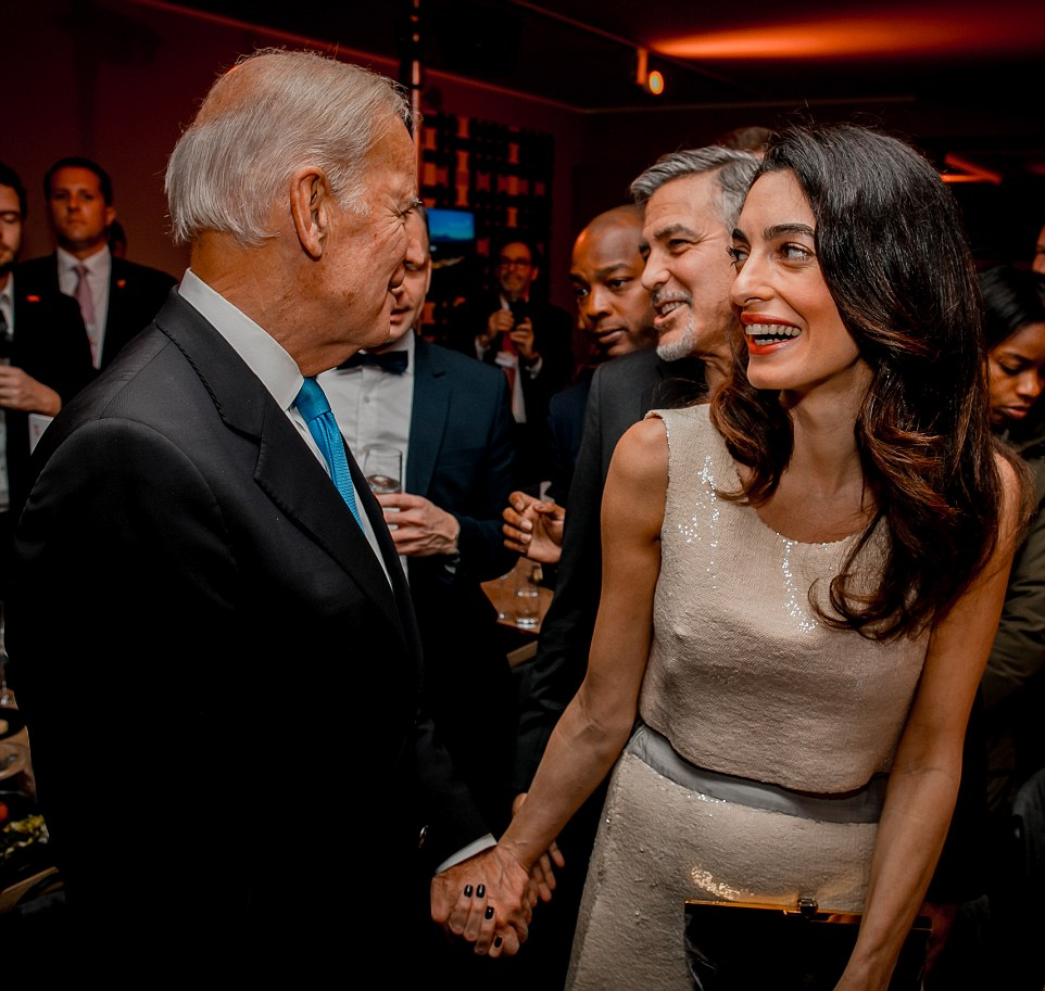Amal Clooney and Nadia Murad guests of honor at Credit