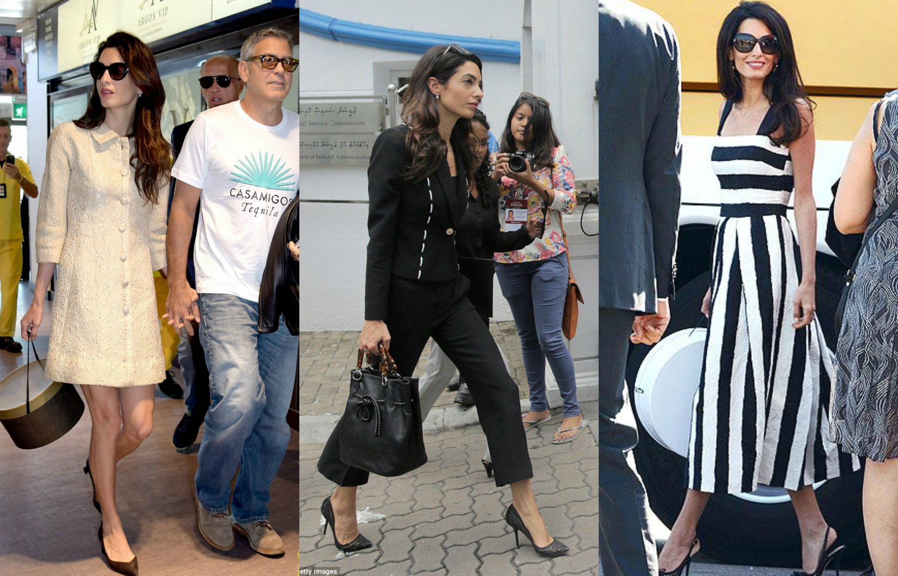 Some shopping today inspired by Amal Clooney !   Amal ...