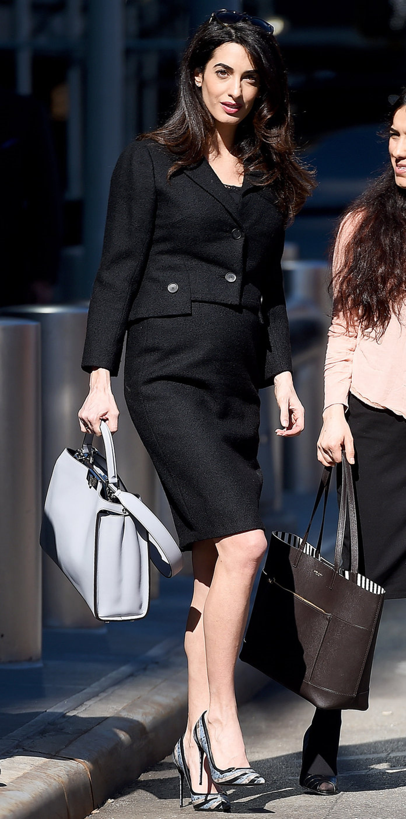 Amal Clooney Spent The International Women S Day At The Un