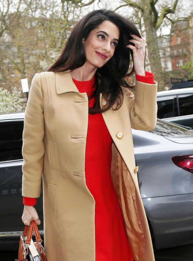 Amal Clooney at the event Accountability: International Crimes in Syria and Iraq 29.03.2017