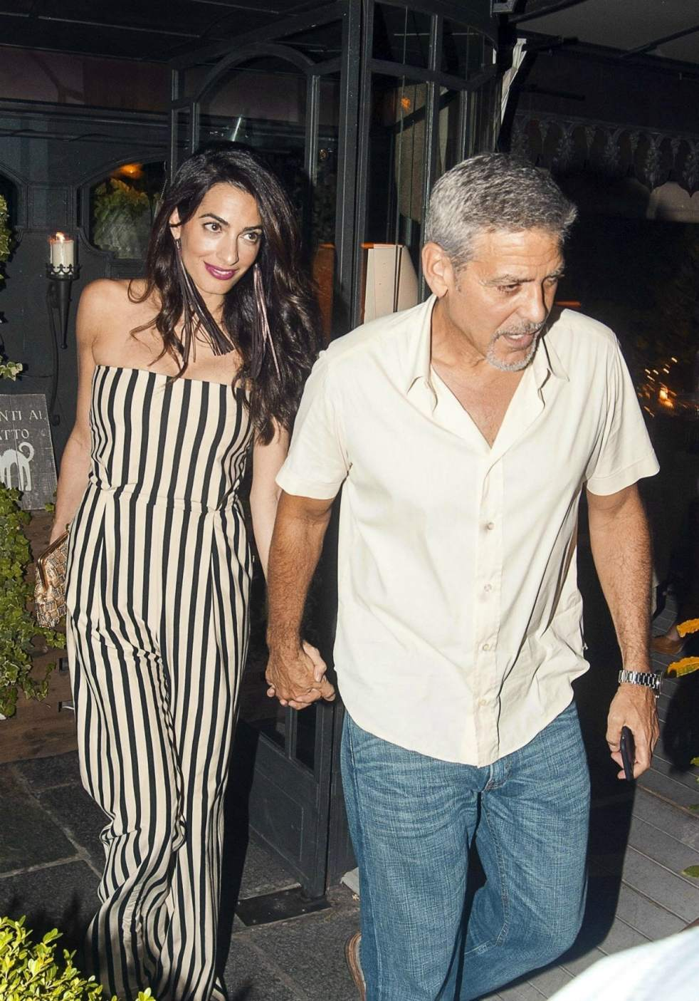 Il Gatto Nero Amal Clooney Style