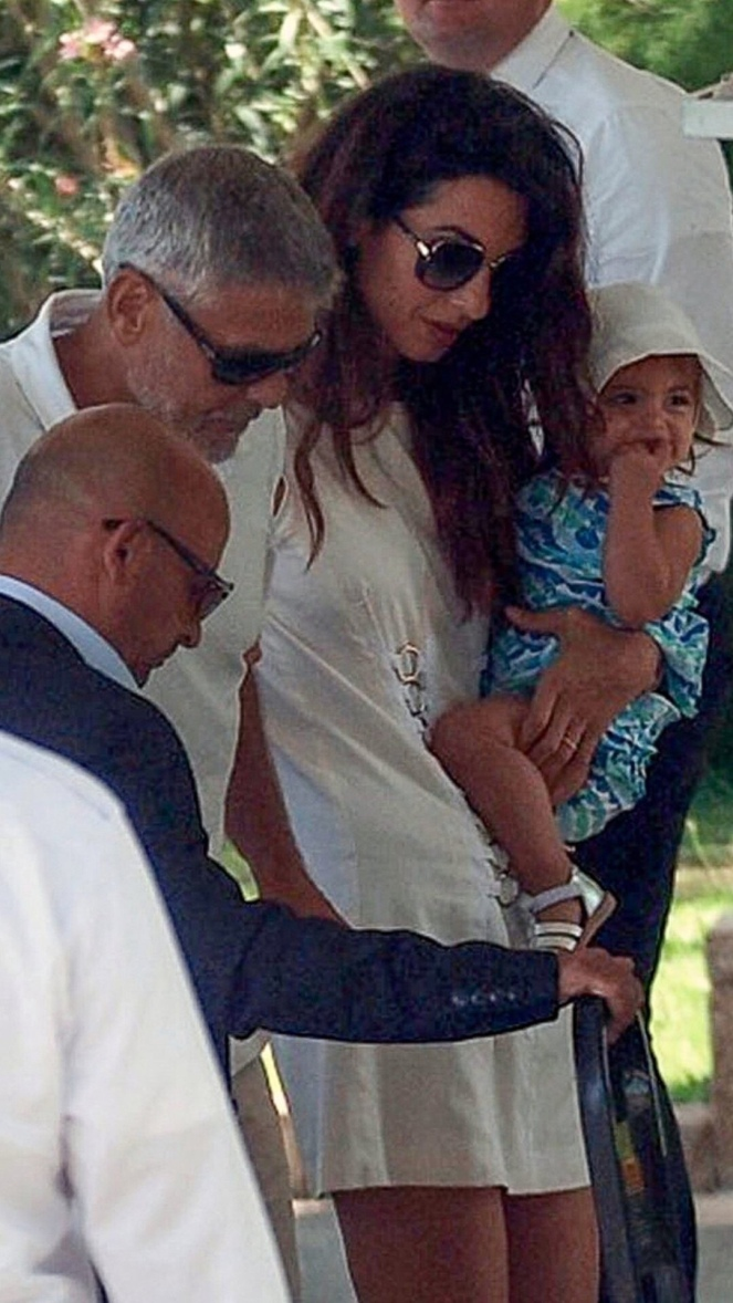 Amal and George Cloone...